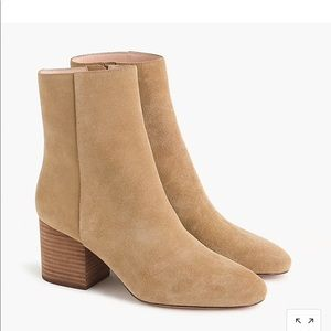 Zara Sadie ankle boots in suede